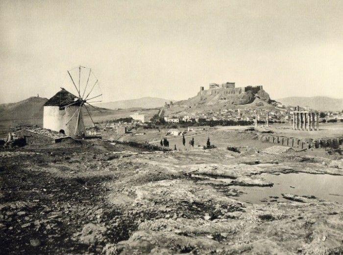 Οταν ο Παρθενώνας ήταν μαυρισμένος, σε χαλάσματα -Είχε τζαμί και σπίτια [εικόνες] | iefimerida.gr