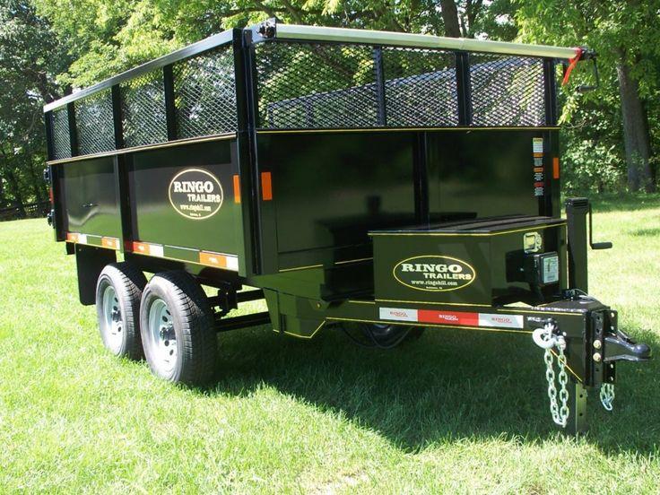 D61010 ringo dump trailer 10000 lbs gvw