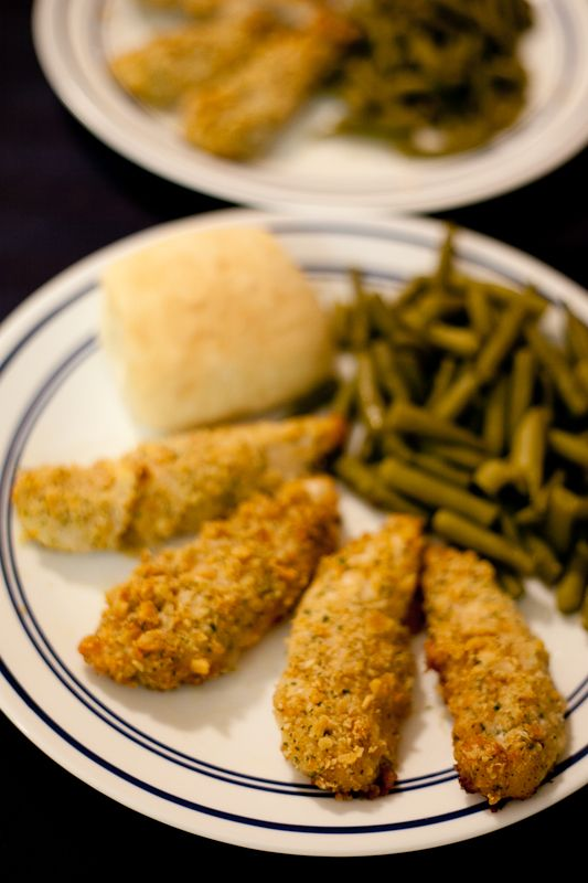 Breaded ranch chicken tenders recipe