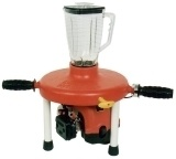 Gas powered margarita blender!  You know you want one...  And I know who you are! need this for the lake..