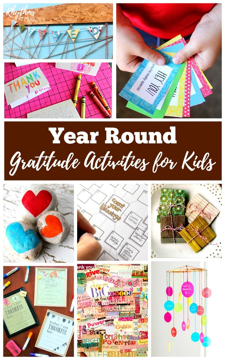 Gratitude brings abundance. When we are thankful for what we have we are given more of what we are grateful for. Use these easy ideas to help children practice thankfulness year round. Nurturing gratitude in the home using these simple lessons, activities