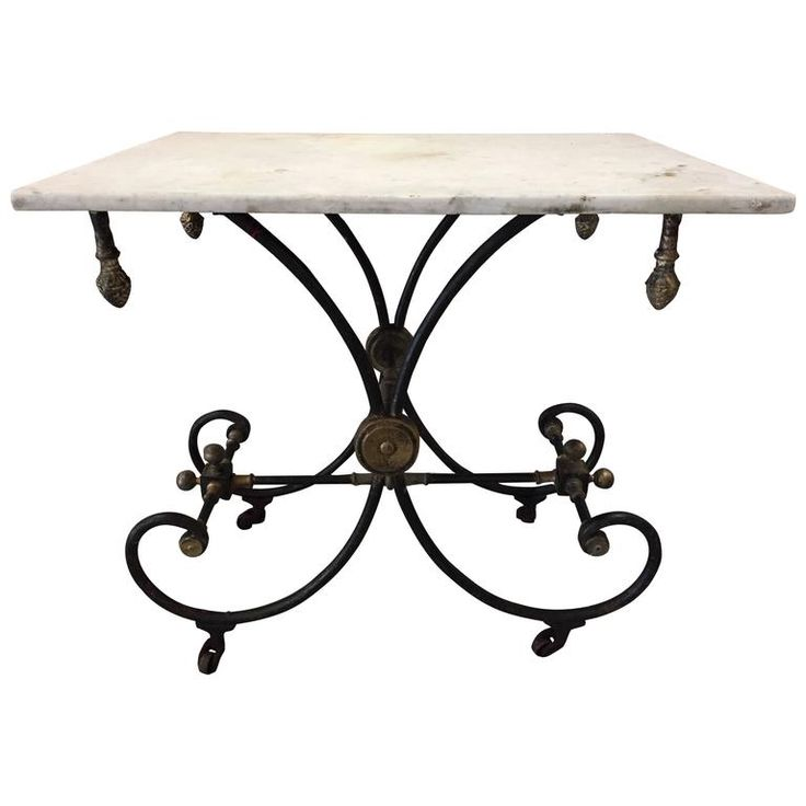 French Pastry Table | 1stdibs.com
