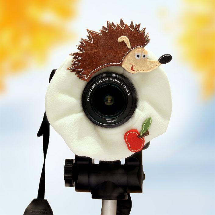 Lens bling  HEDGEHOG / opaska na obiektyw JEŻ