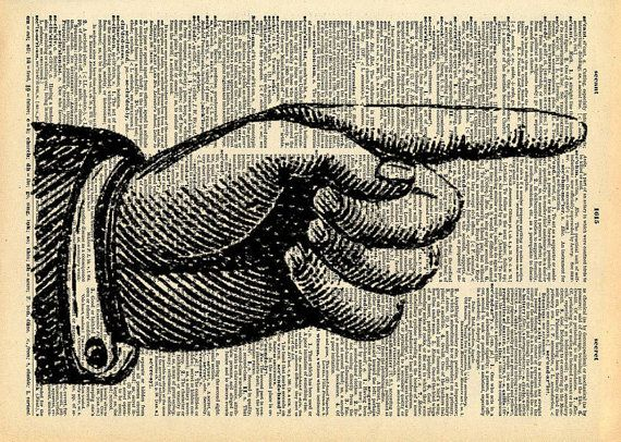 Pointing Finger   Vintage Book Art Print   Victorian Hand Art   Recycled  Antique Book Print23 best Bathroom artwork images on Pinterest   Bathroom artwork  . Bathroom Artwork. Home Design Ideas