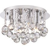 Found it at Wayfair - Bordeaux 4 Light Flush Mount  on sale : 119.99