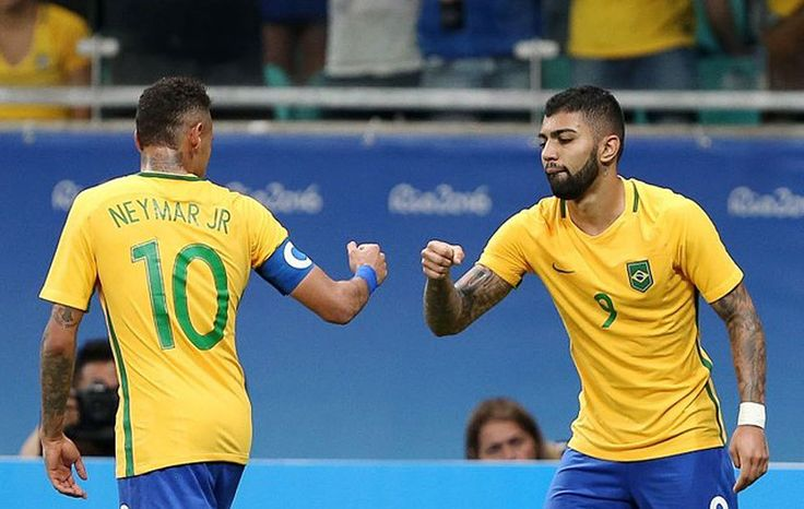 After going two games without a goal and being booed off the field by their own fans, the Brazilian men's soccer team found their scoring touch at the Rio Olympics on Wednesday.