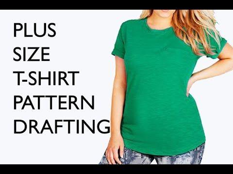 Sew a Plus Size T-Shirt - Free Pattern Drafting Tutorial - Sew ...