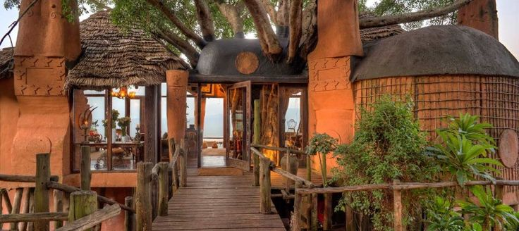 Ngorongoro Crater Lodge This stunning, award winning lodge is found on the edge of the Ngorongoro Crater itself, and its elegant interiors wonderfully complement the wilderness of its surrounds.