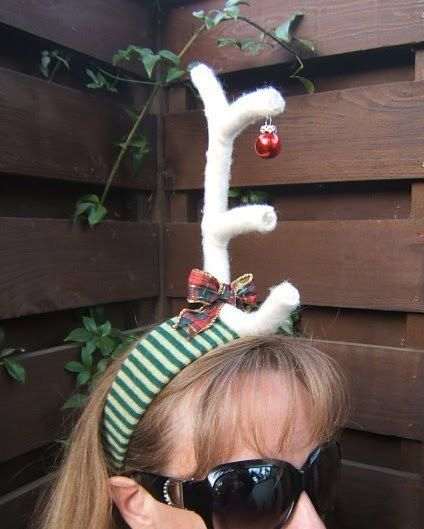 Max From The Grinch Antler Headband ∙ How To by PlaidCrafter on Cut Out + Keep