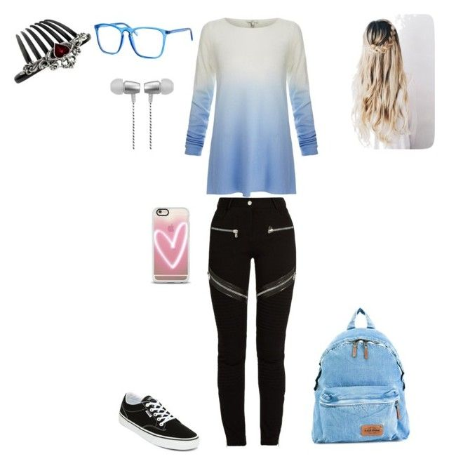 """""""Lazy day ( Aaron Jordan )"""" by lightgaze on Polyvore featuring Joie, Givenchy, Vans, Eastpak, Polar, Casetify and Cynthia Rowley"""