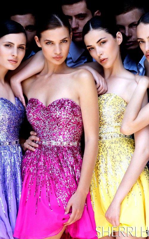Mejores 21 imágenes de Sherri Hill en Pinterest | Vestidos de fiesta ...