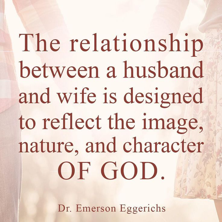 the nature and intimacy of the husband wife relationship Once upon a time, you thought that your husband (or wife) was a wonderful  have a tendency to bulldoze their agenda in relationships which results in the wife.