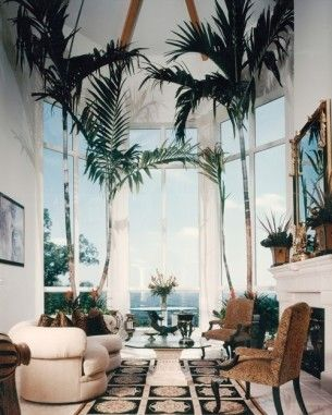 148 best images about interior decorating with palms on Artificial trees for interior design