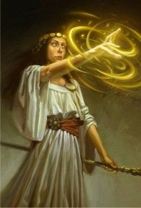 Magic in Fantasy - Part Three: Ancient Magic  In which I talk about ancient magic, part three of a four-part series  (08/07/2011)  (http://fantasy-faction.com/2011/ancient-magic)  (The Priestess by capprotti)