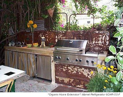 37 best Rustic Outdoor Kitchens images on Pinterest | Rustic ...