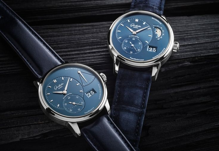 """Updated Glashütte Original PanoMaticLunar, PanoReserve Models For 2015 - by David Bredan """"Every year, as the tsunami of major new releases of BaselWorld approaches, we also encounter a larger number of updates to existing models. One – well, two – of the more notable ones that were released just today are from Glashütte Original who announced two new-for-2015 versions of both their PanoReserve and PanoMaticLunar pieces..."""""""