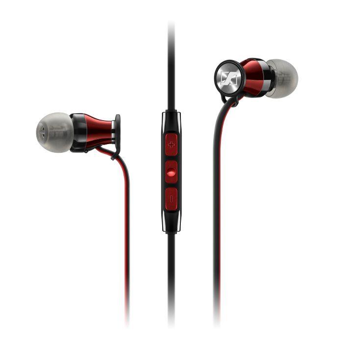 Sennheiser Ecouteurs intra Momentum In-Ear i filaire Rouge à 99 EUR sur lick.fr