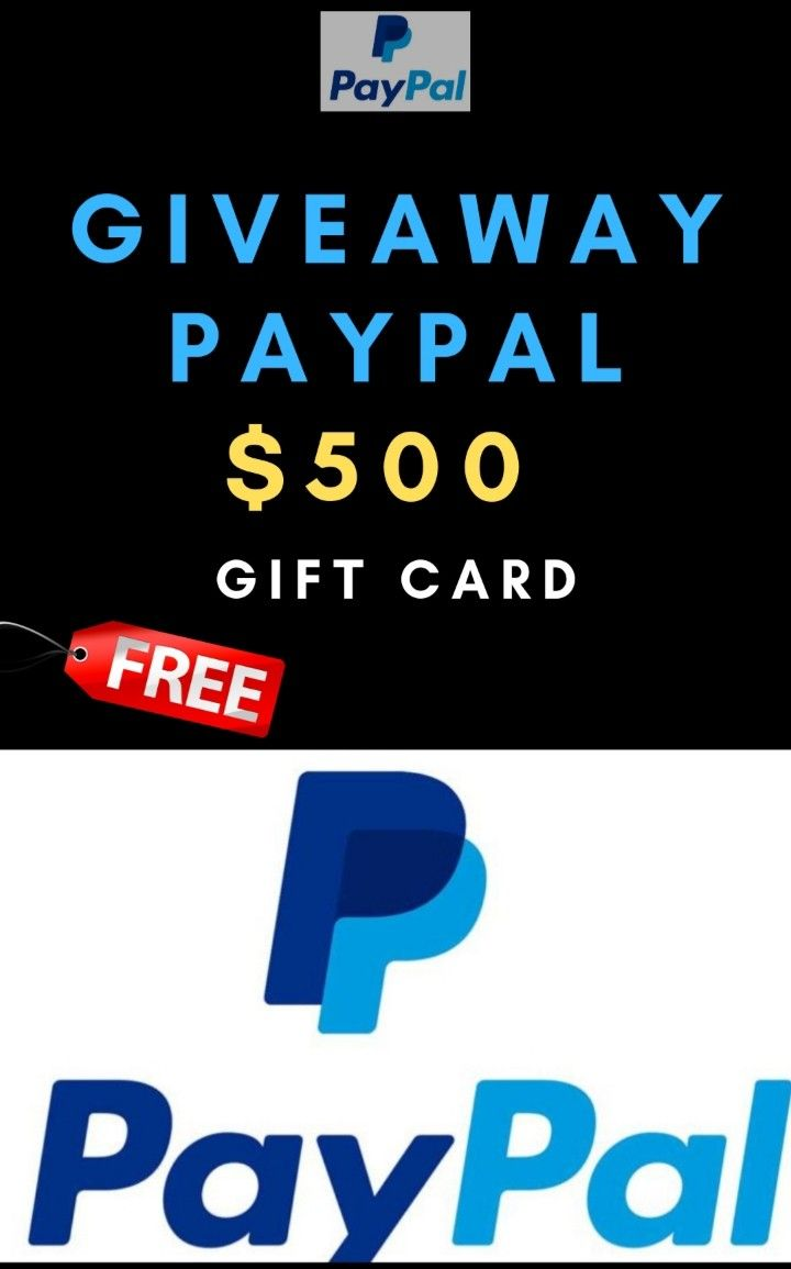 500 giftcard in 2020 paypal gift card gift card deals