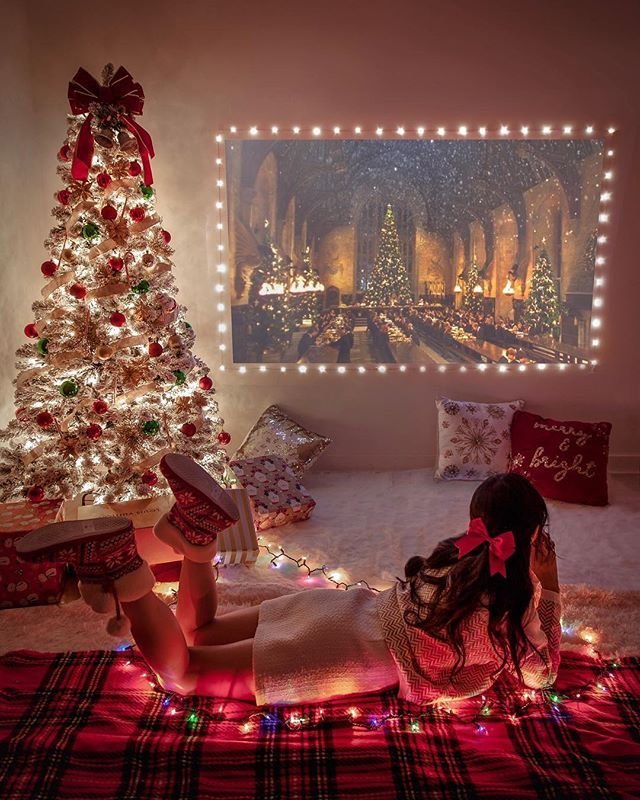 Name A Movie You Ve Watched More Than 5 Times Mine Is Harry Potter And Love Actually Christmas Aesthetic Christmas Tree Decorations Decor