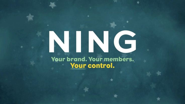 Ning online community