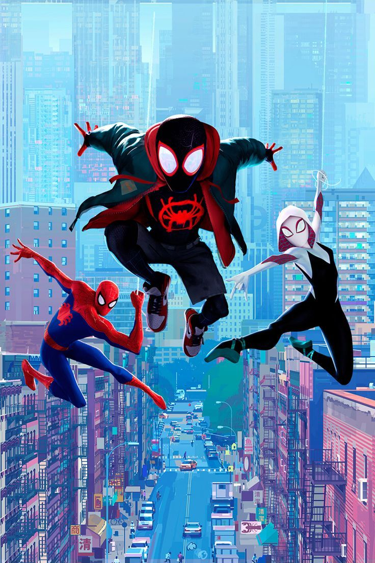 Film Review Spider Man Into The Spider Verse Spiderman Marvel