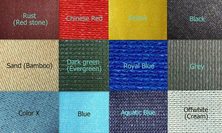 Shade Cloth For Commercial Patios Shade Cloth Colors