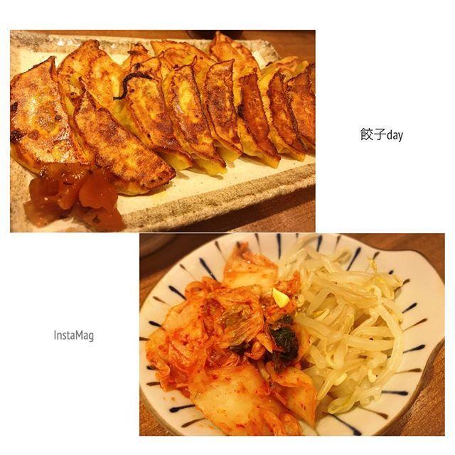 8/  まん天&カレー餃子😊🙌 今回は期間限定がカレーっていうことで珍しさに惹かれて注文!そして相変わらずキムチもやしナムルにハマりすぎて頼まないのは考えられない! 一口サイズでしっかりカレーの味あじわえて、美味しかったしまん天はいつもどおり変わらぬ美味しさ♡  #横浜#餃子女子#餃子#中華#餃子部#グルメ#肉#おひとりさま#仕事帰り#大好物#キムチ#chinesefood #instapic #instafood #instagood #instagram #food #foodie #foodgasm #foodstagram #foodpics #foodporn #selfie#lunch#eating #like4like#beef#instalike#photoofthedays#instadaily