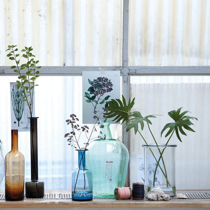 Szklane wazony House Doctor/ Glass vases by House Doctor