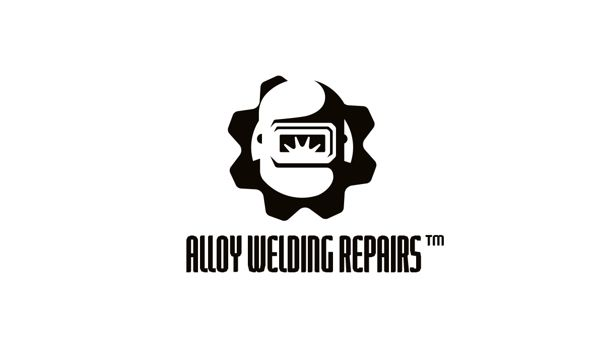 Alloy Welding Repairs Logo by Neil Burnell, via Behance