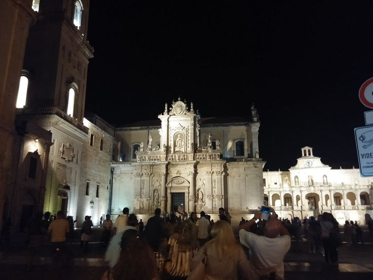 Duomo di Lecce nel Lecce, Puglia