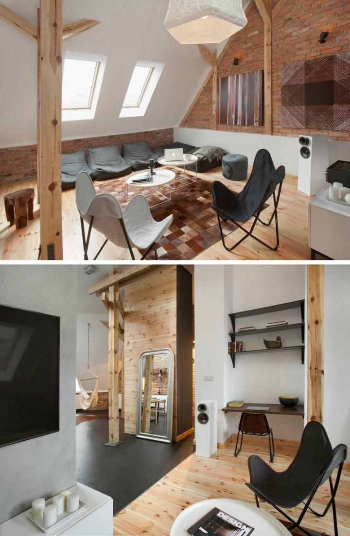 205 best Mansard Attic Penthouse images on Pinterest | Live, Homes ...