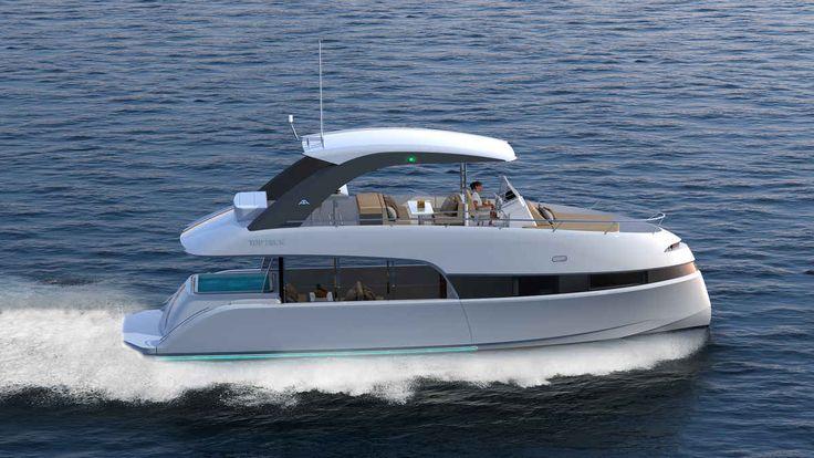 Luiz de Basto designed the Astondoa Top Deck 51 as the ultimate day boat.
