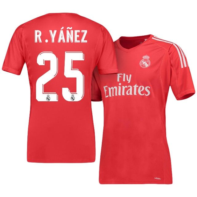 -18 Goalkeeper Jersey Real Madrid Replica Football Shirt Red