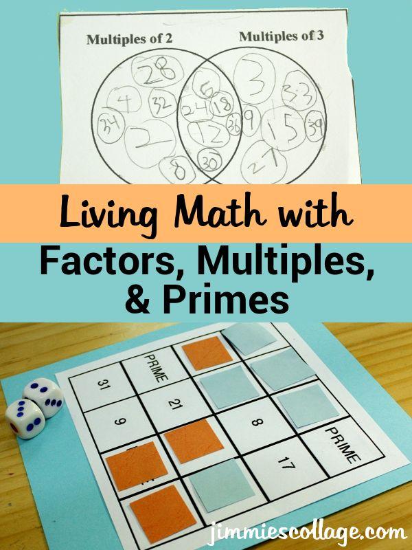 factors multiples and primes worksheet pdf