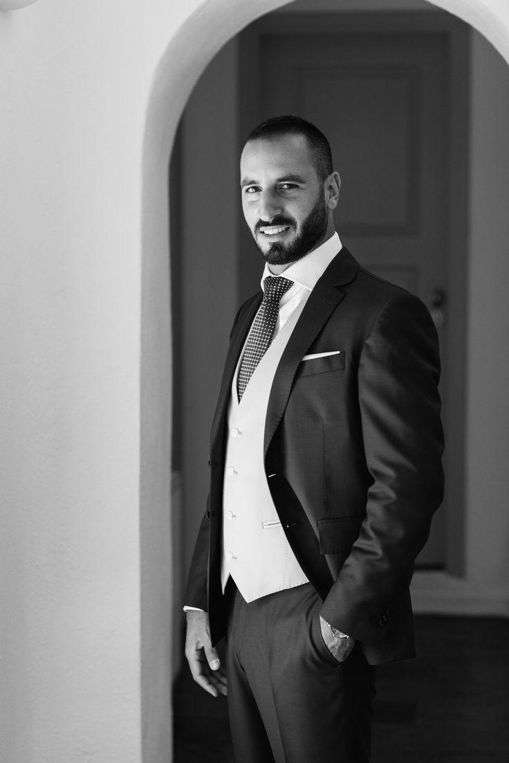 Amazing Suit, Wedding, Santorini, Private Villa, Smile,
