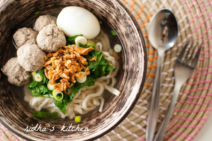 Bakso Soup...bought from street vendors in Bali...yummmm