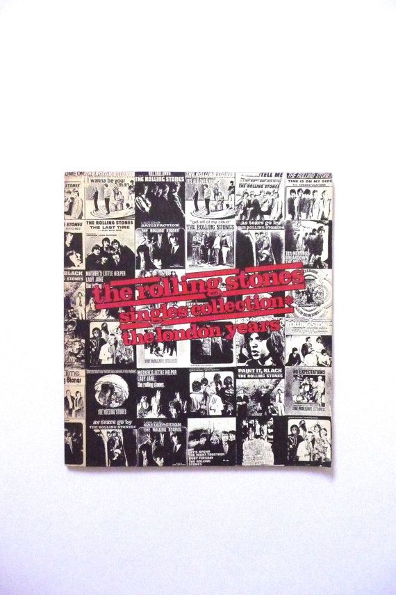 The Rolling Stones Singles Collection The London Years Book