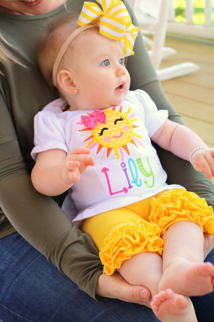 image 0 Sunshine first birthday, Pink long sleeve shirt
