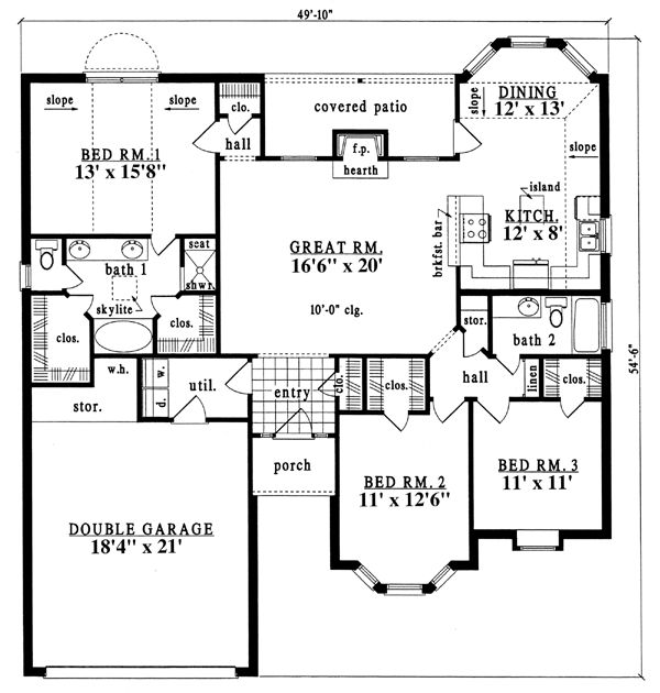 17 best images about floor plans under 1800 sq ft on for 1800 50 floor