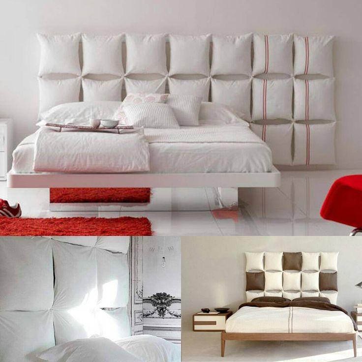 «Genialne!!! Prosta rama łóżka i niebanalny zagłówek z poduszek - niedrogo i funkcjonalnie. Po materac i łóżko zapraszamy do www.sypialnia.net - z…»