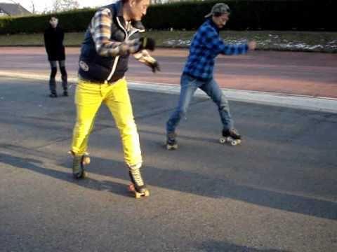 ローラースケート 蘇南公園レッスン