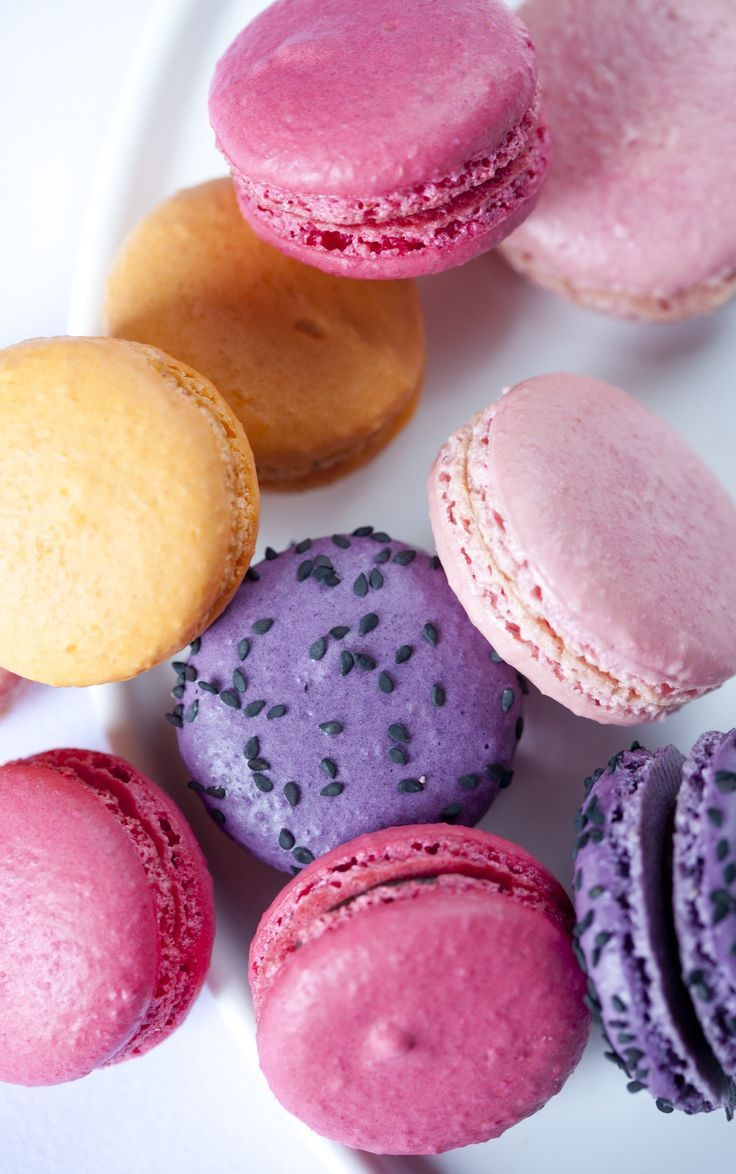 Macaroons in all colors and flavors make our luxury list. What's on yours? | Park Hyatt | #MYLUXLIST
