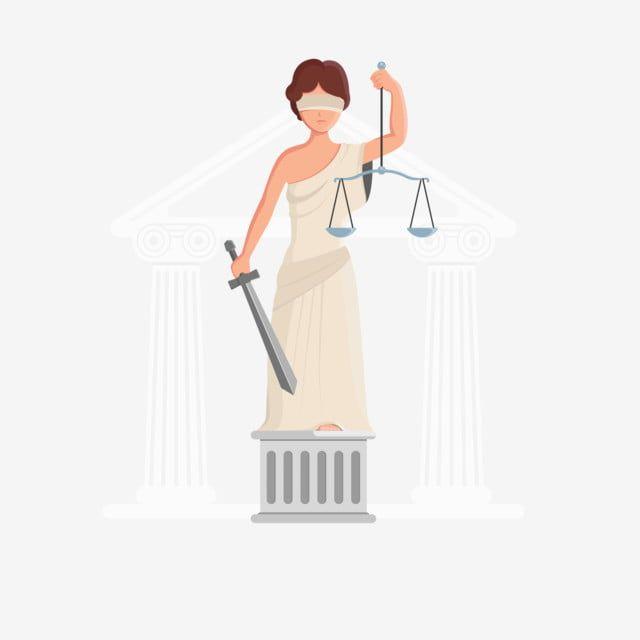 Diosa De La Justicia De Dibujos Animados Diosa De La Justicia Jutitia Estatua De Jutitati Diosa De La Justicia Justicia Escala Justa Png Y Vector Para Descar In 2021 Navratri Greetings