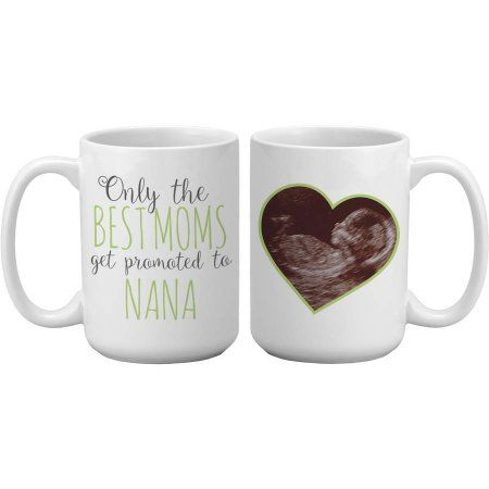 Personalized Get Promoted Photo Mug, Available in 3 Colors, Green