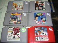 6 games for Nintendo 64 N64 Star Wars Episode I Racer Madden 99 Tetris