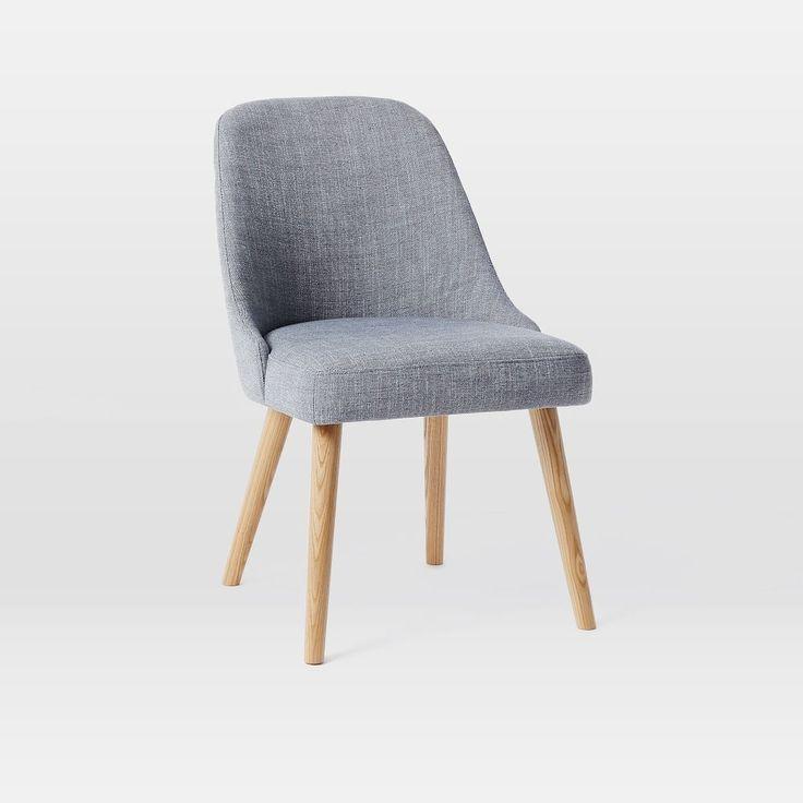 Mid-Century Dining Chairs - Oak Legs ($49)