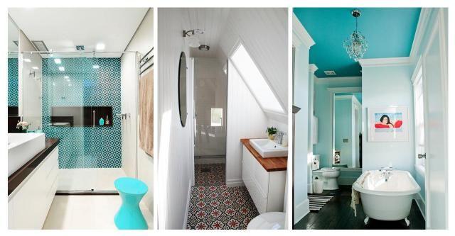 Katalog wnętrz: Jak urządzić małą łazienkę? #MAŁA ŁAZIENKA #ŁAZIENKA #INSPIRACJE #WNĘTRZA