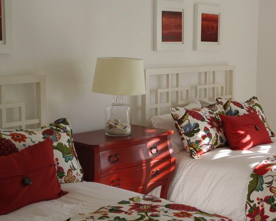 Red Blue Fabric Design, Pictures, Remodel, Decor and Ideas