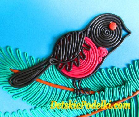 Мама для мам: Цветочная поляна из жгутиков пластилина