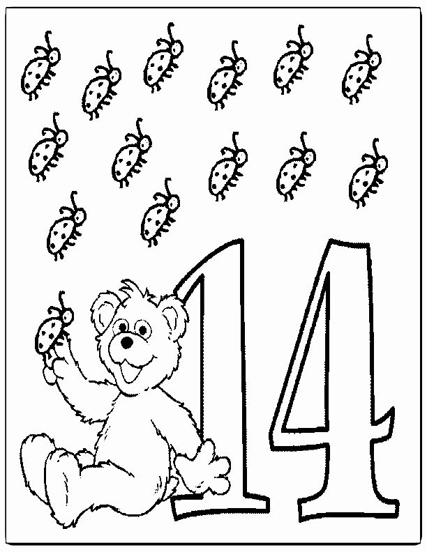 Number 13 Coloring Page Lovely Number 13 Coloring Page Coloring Home In 2020 Sesame Street Coloring Pages Coloring Pages School Coloring Pages